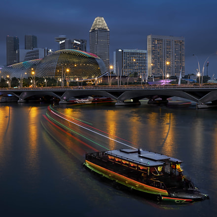 Singapore Night Scene, Fujifilm X-T2, XF18-135mmF3.5-5.6R LM OIS WR