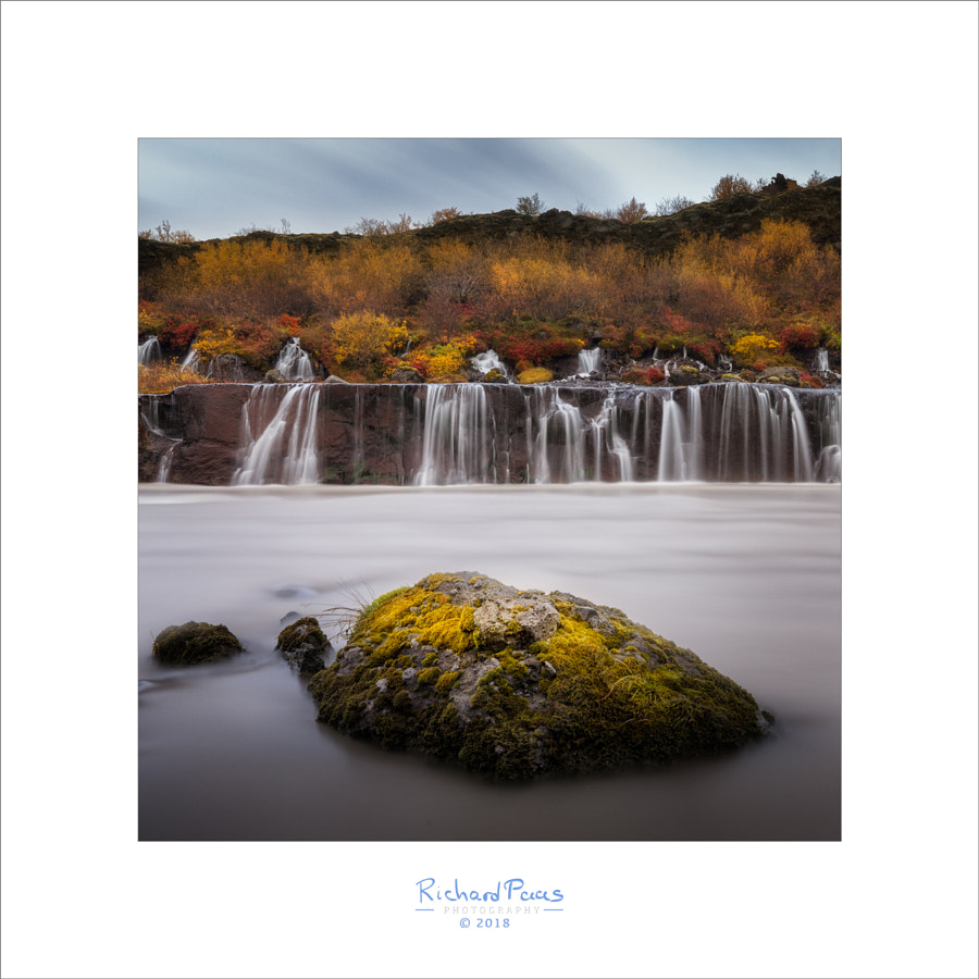 Hraunfossar in the Fall by Richard Paas on 500px.com