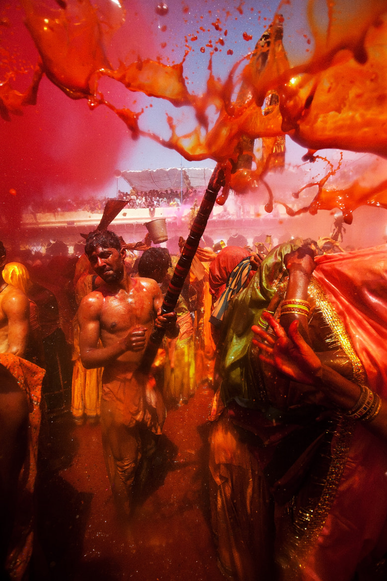 Photograph Holi Festival, India by Jitendra Singh - Indian Travel Photographer on 500px