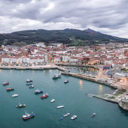 Vista Panorámica aérea Castro Urdiales Cantabria