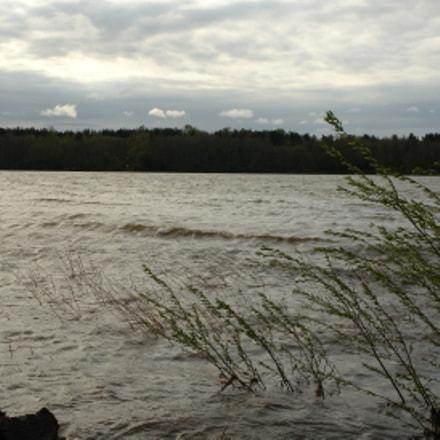 Река Нева. Ветер.