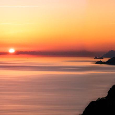 Sunset - Costiera Amalfitana, Fujifilm FinePix S2000HD S2100HD