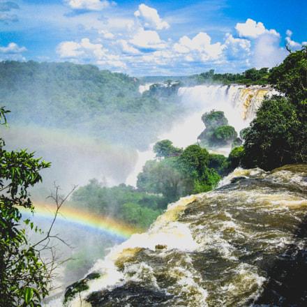 Iguazu rainbow, Canon POWERSHOT SD790 IS