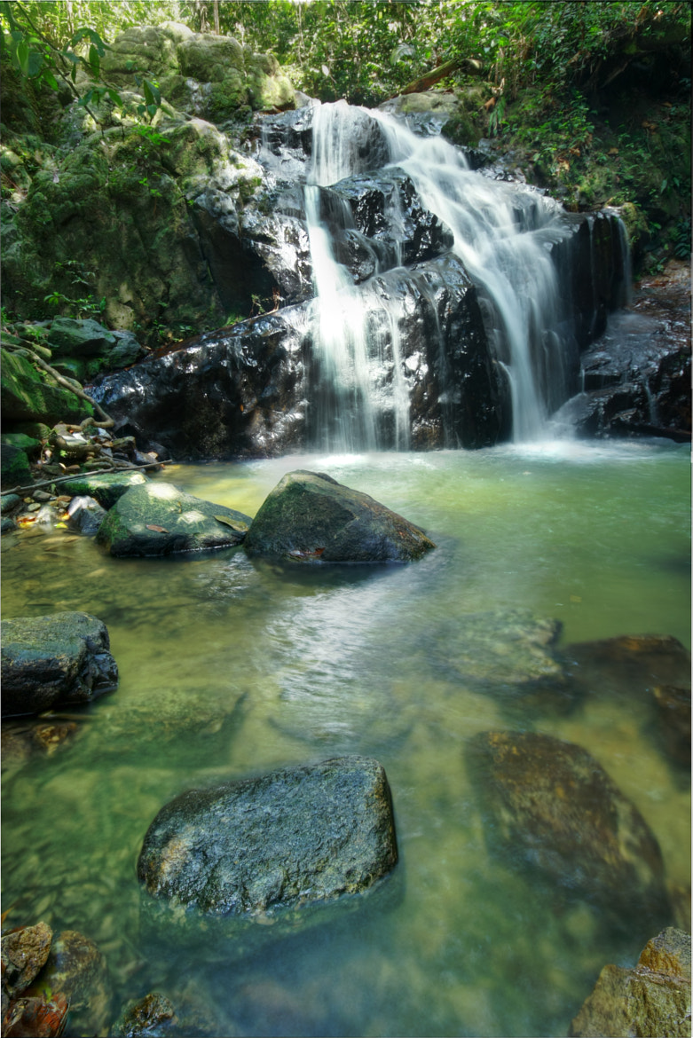 Photograph Gunung Pulai Waterfall by Qallam Ahmad on 500px