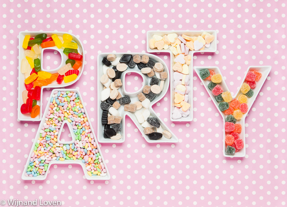 Photograph Party with Candy by Wijnand Loven on 500px