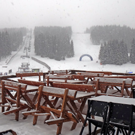 Ski resort, Sony DSC-TX10