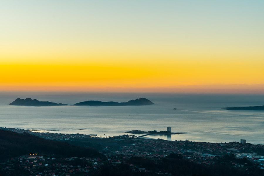 Twentynine #Projet365 Sunset at Monte Alba, Vigo