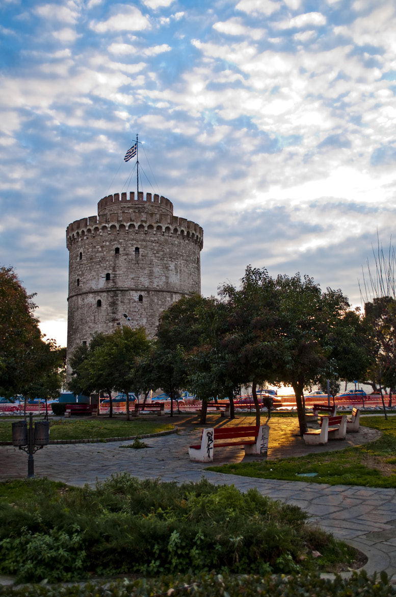 Photograph White Tower by Leontios Sakellis on 500px