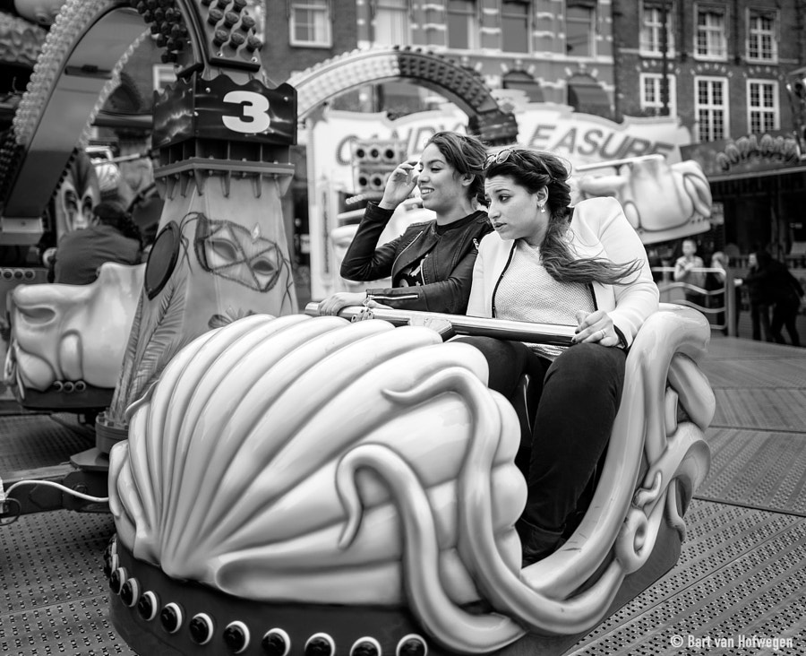 Having Fun (or is she ?)  II by Bart van Hofwegen on 500px.com