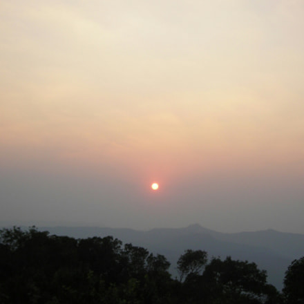 SUNSET, Nikon COOLPIX L3