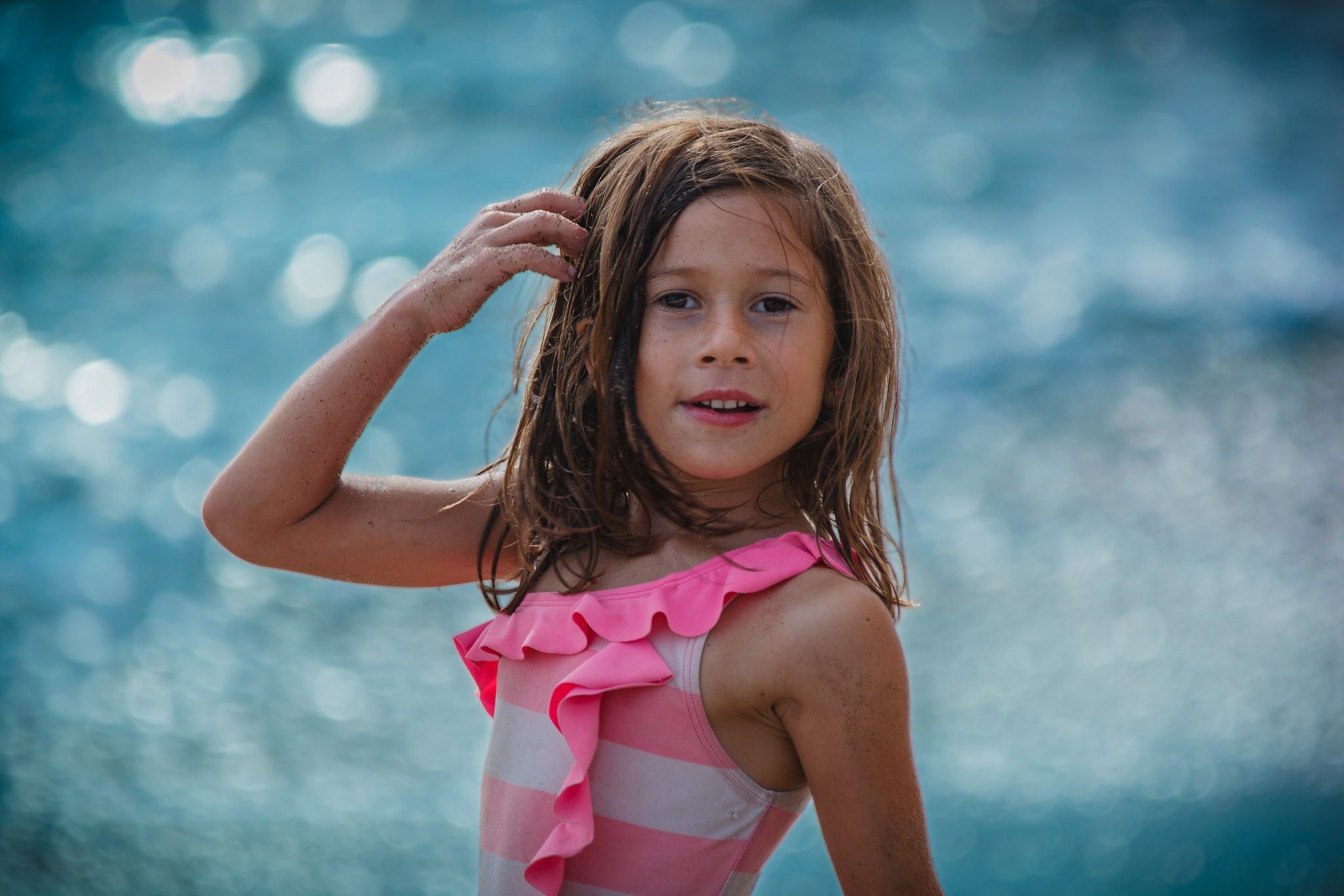 Photograph Emma at the beach by RobertLBrett on 500px