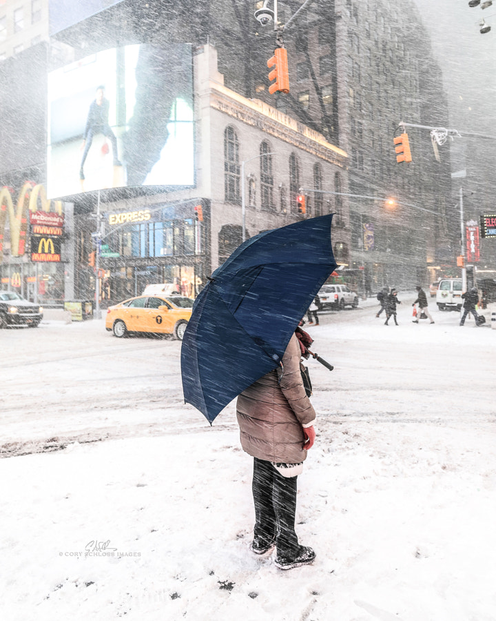 Waiting | Times Square, NYC by Cory Schloss Images on 500px.com