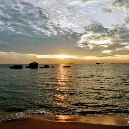 #SunsetTanjungBidaraMelaka, Nikon COOLPIX S6800