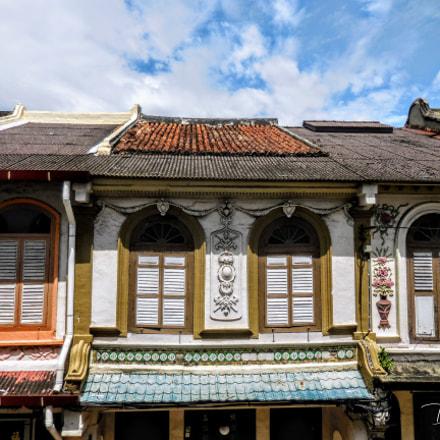 #OldRoofAndWindows.JonkerStreet.Melaka, Nikon COOLPIX S6800