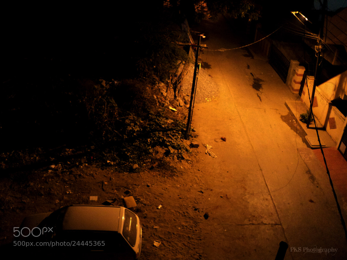 Photograph The road at night by Pabitra kumar Sahoo on 500px