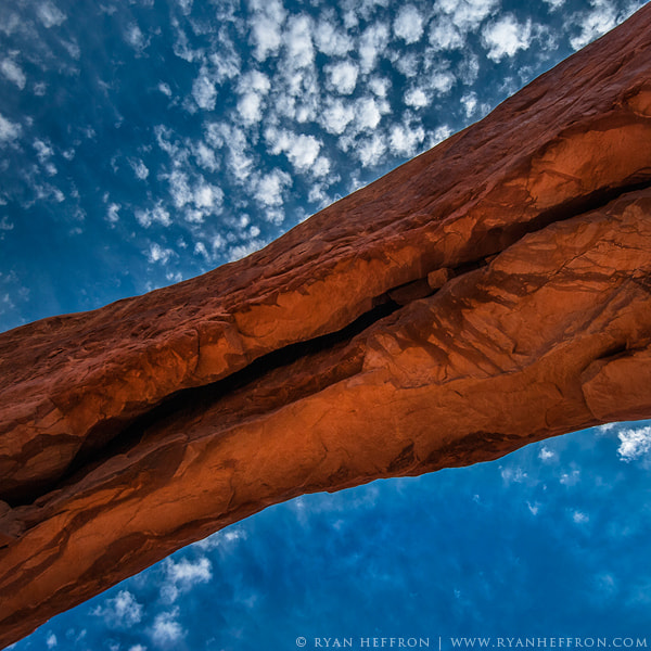 Photograph Red Rock Blue Sky by Ryan Heffron on 500px