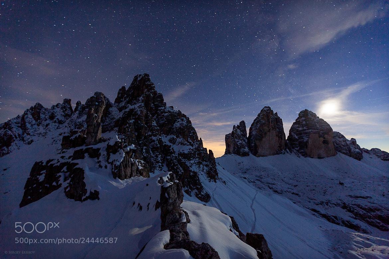 Photograph moonlight by Sergey Ershov on 500px