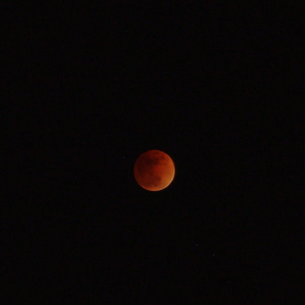 Super Blue Blood Moon, Pentax K-X