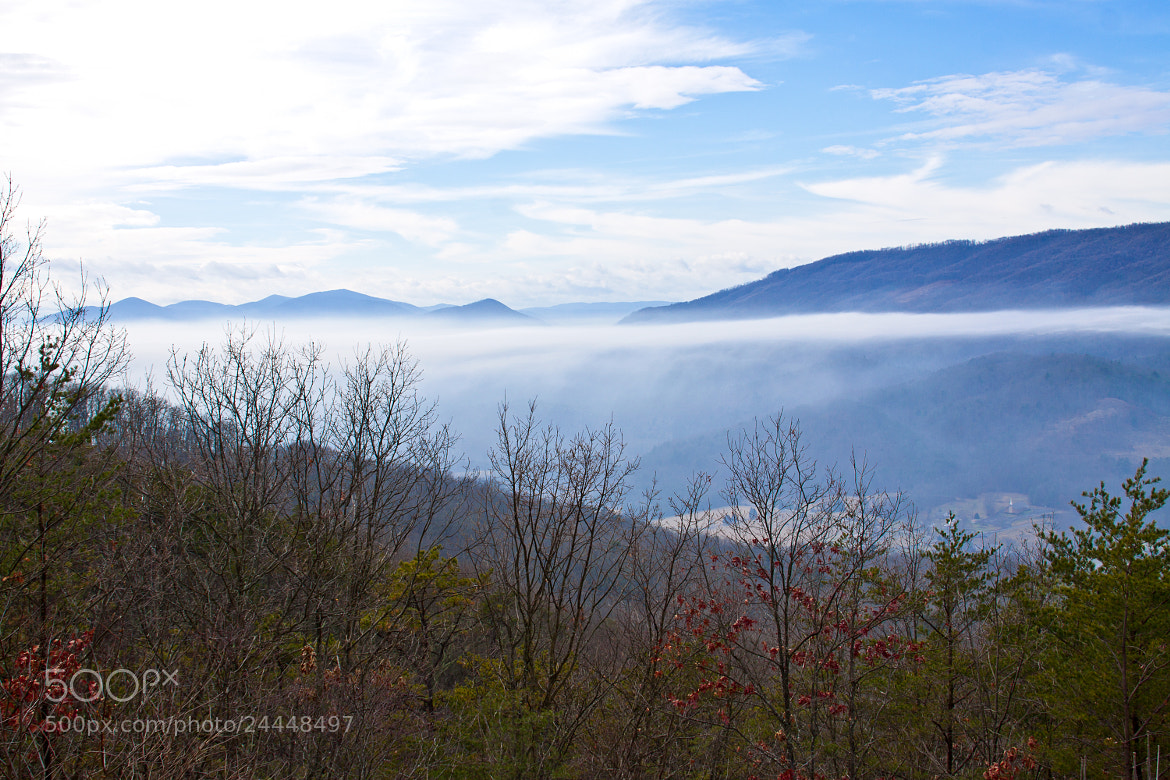 Photograph The Blue Ridge by LuAnn Hunt on 500px