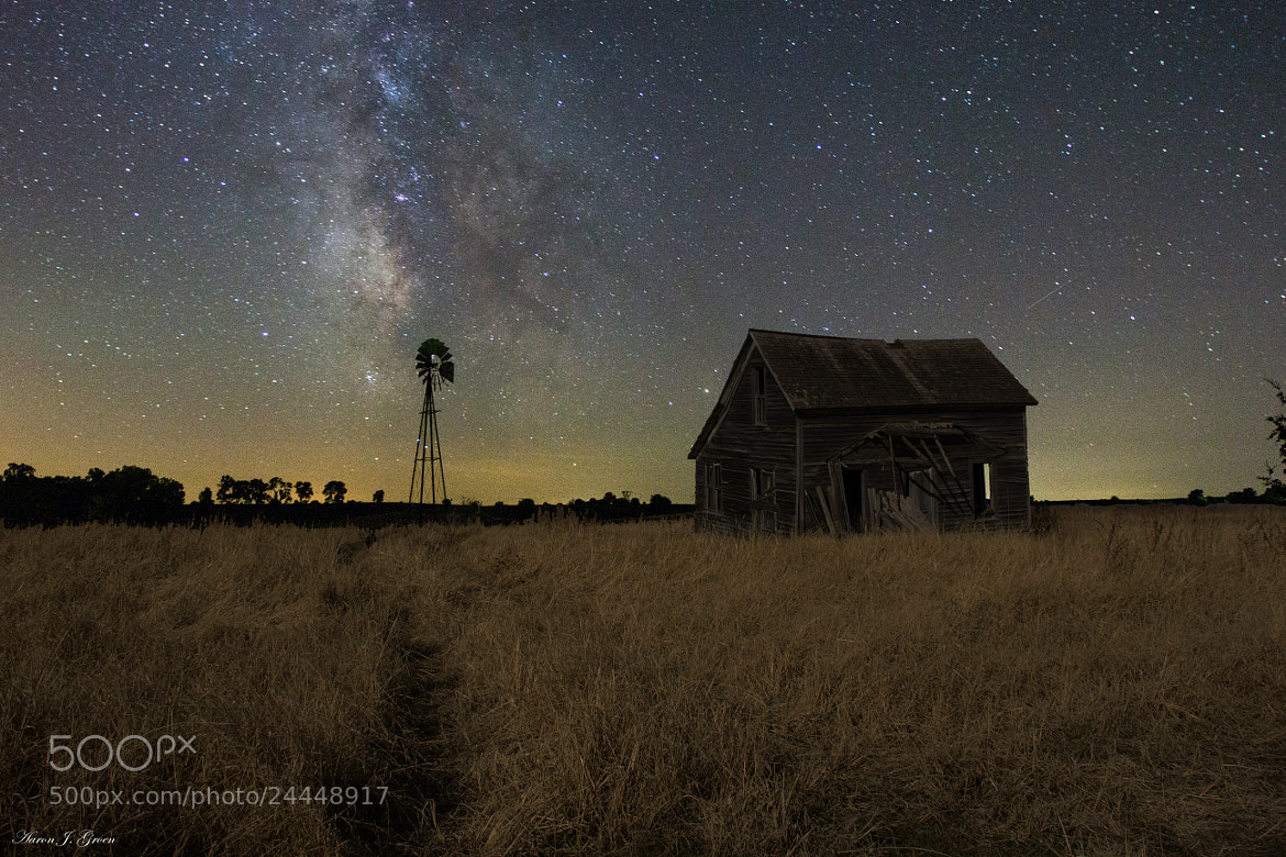Photograph Milky Way & Decay 2 by Aaron J. Groen on 500px