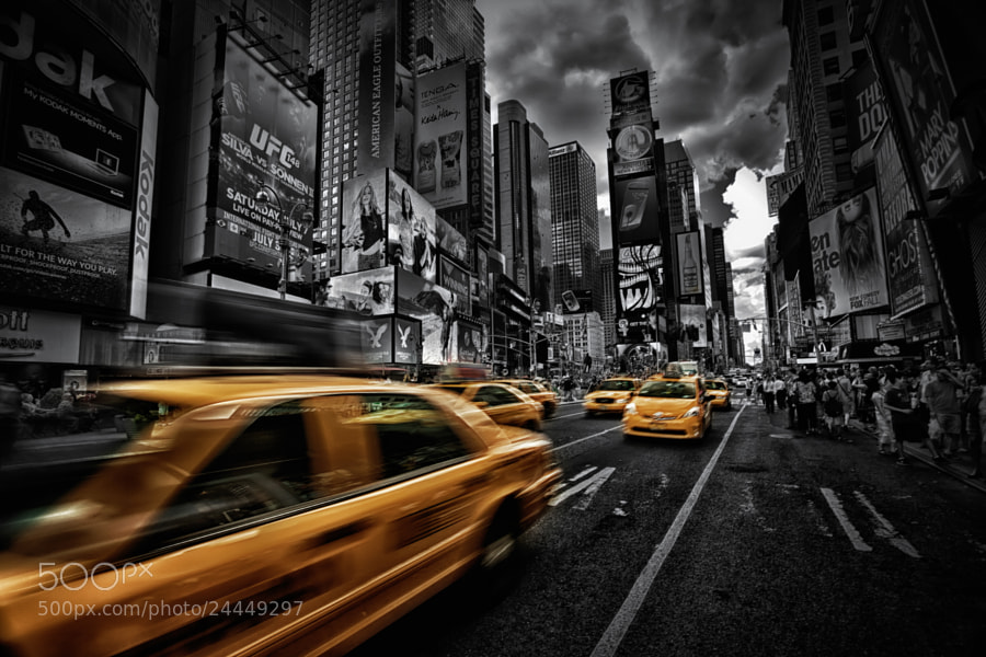 Photograph Rush Hour by Marc Perrella on 500px