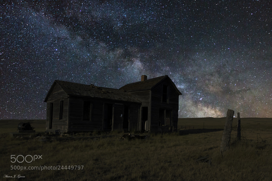 Photograph Milky Way & Decay 3 by Aaron J. Groen on 500px