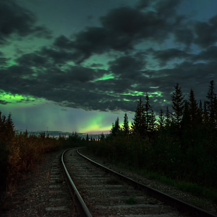 A storm of light