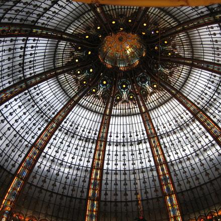 Paris Galeries Lafayette, Canon DIGITAL IXUS 55