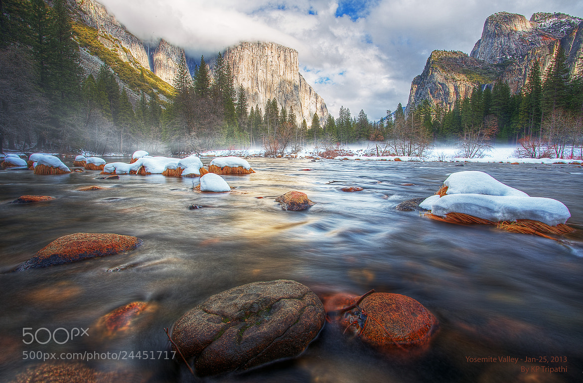 Photograph Yosemite: Valley and half Dome by KP Tripathi on 500px