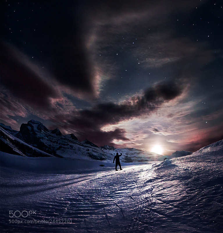 Photograph Blinded by the Moon by Max Rive on 500px
