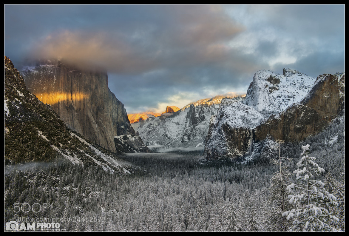 Photograph Winter's Mark by Aaron M on 500px