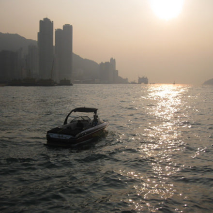 Hong Kong, bay, Canon DIGITAL IXUS 85 IS