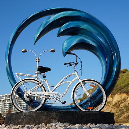 אופניים חשמליים, Sony ILCE-6300, Sony E 24mm F1.8 ZA