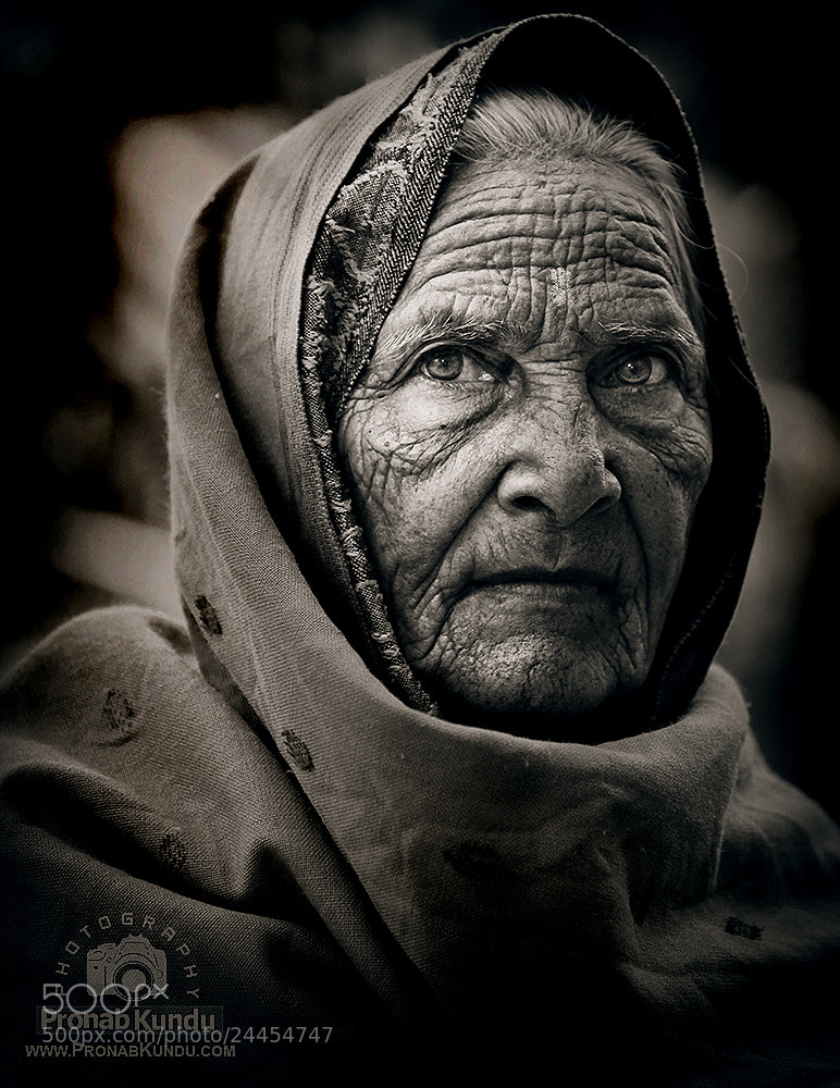 Photograph ~ A Storytelling Face ~ by PRONAB KUNDU on 500px