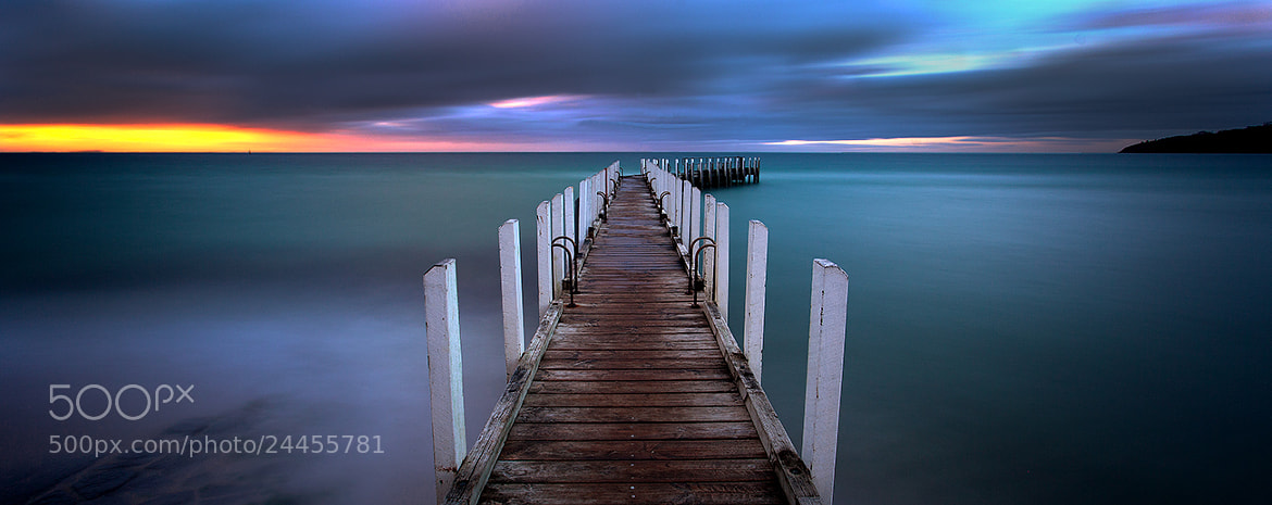 Photograph Stormy night on the Mornington Peninsula by Matthew Hahnel on 500px