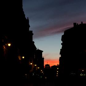 Atardecer en León / Sunset in León