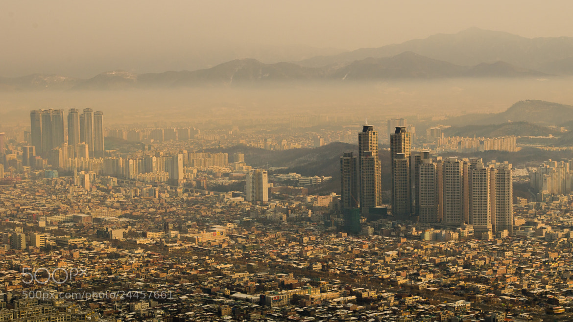 Photograph Korea at Sunrise by Brad Tombers on 500px