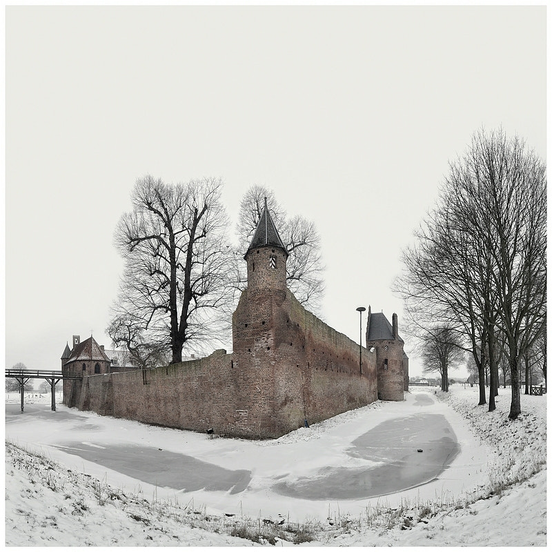 Photograph Castle in the snow by Paula Loonen on 500px