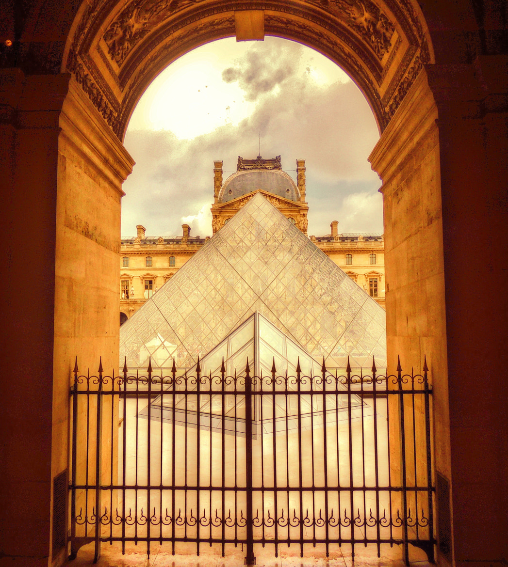 Photograph View from within the Louvre. by Ravi S R on 500px