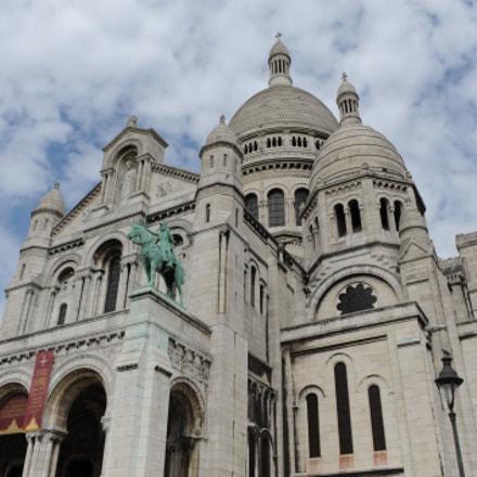 Sacré-Cœur Basilica, Nikon D3, AF-S Zoom-Nikkor 28-70mm f/2.8D IF-ED