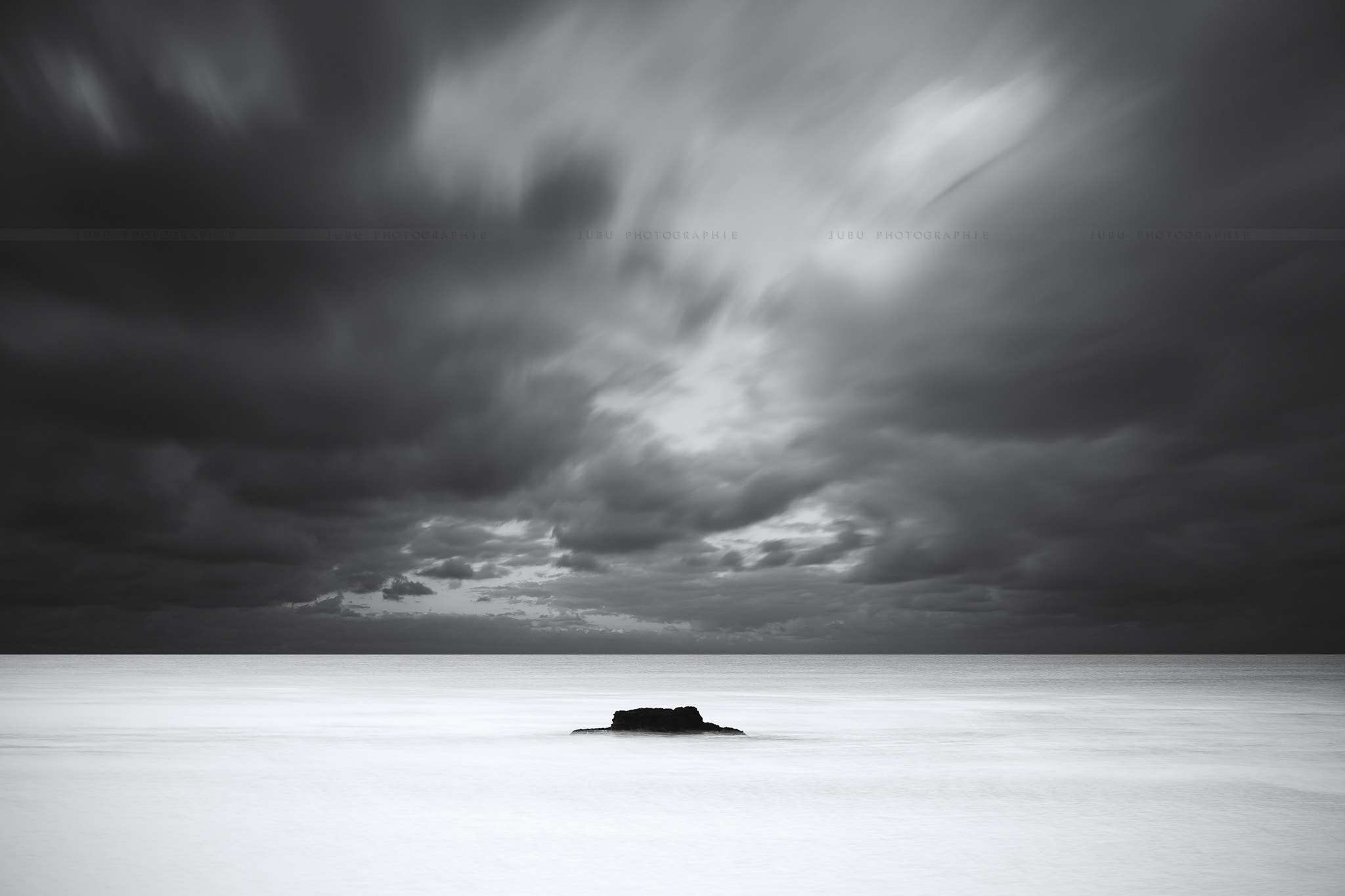 Photograph • Alone in the Sea • by Jubu Photographie on 500px