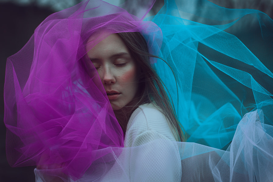 portrait photographer - tulle love by Maxi Boehm on 500px.com