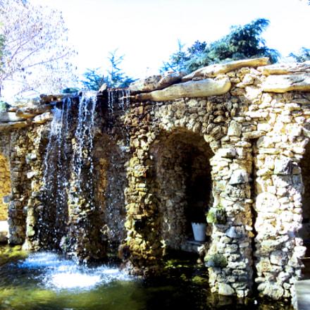 Botanical Gardens Stone Wall, Sony DSC-W580