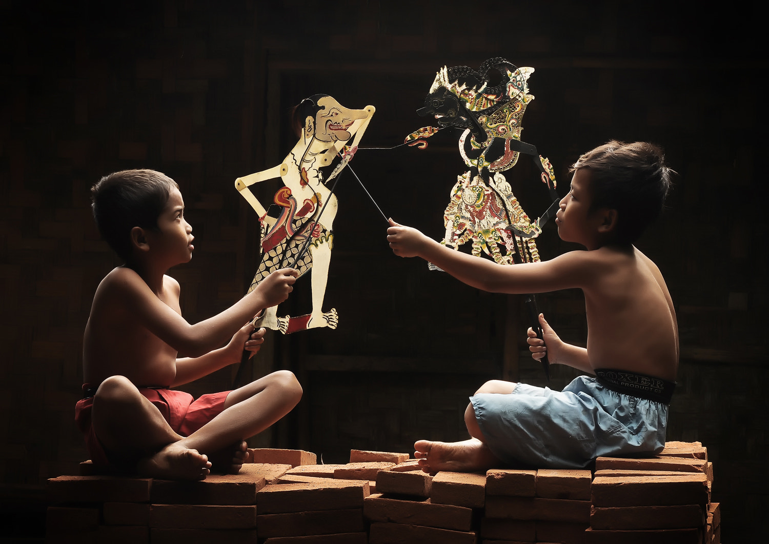 Photograph Playing Puppet by Herman Damar on 500px