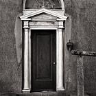 Worn classic door, Harkness estate