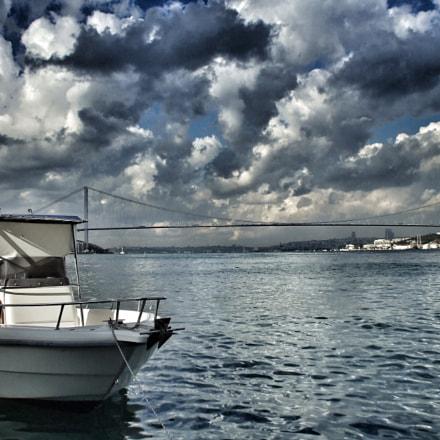 Dancing clouds | Istanbul, Fujifilm FinePix A800