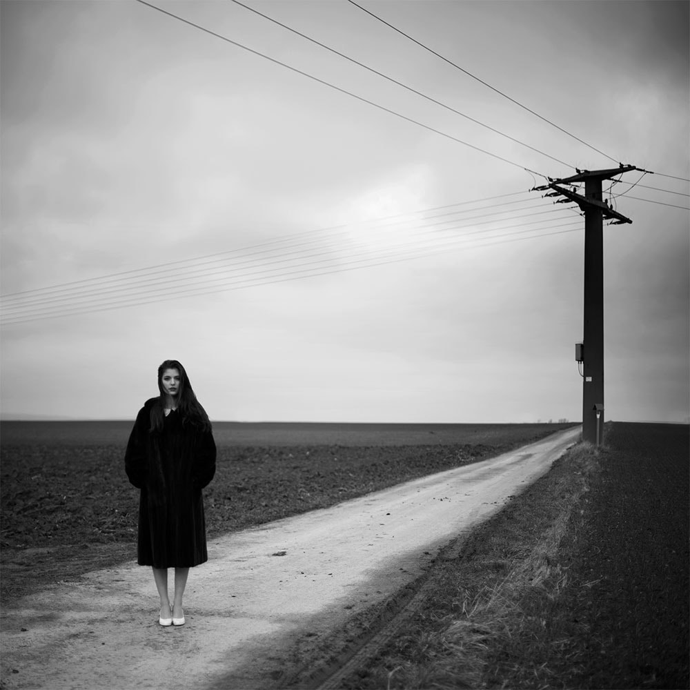 Photograph The woman on the dirt road by Thomas Schouten on 500px