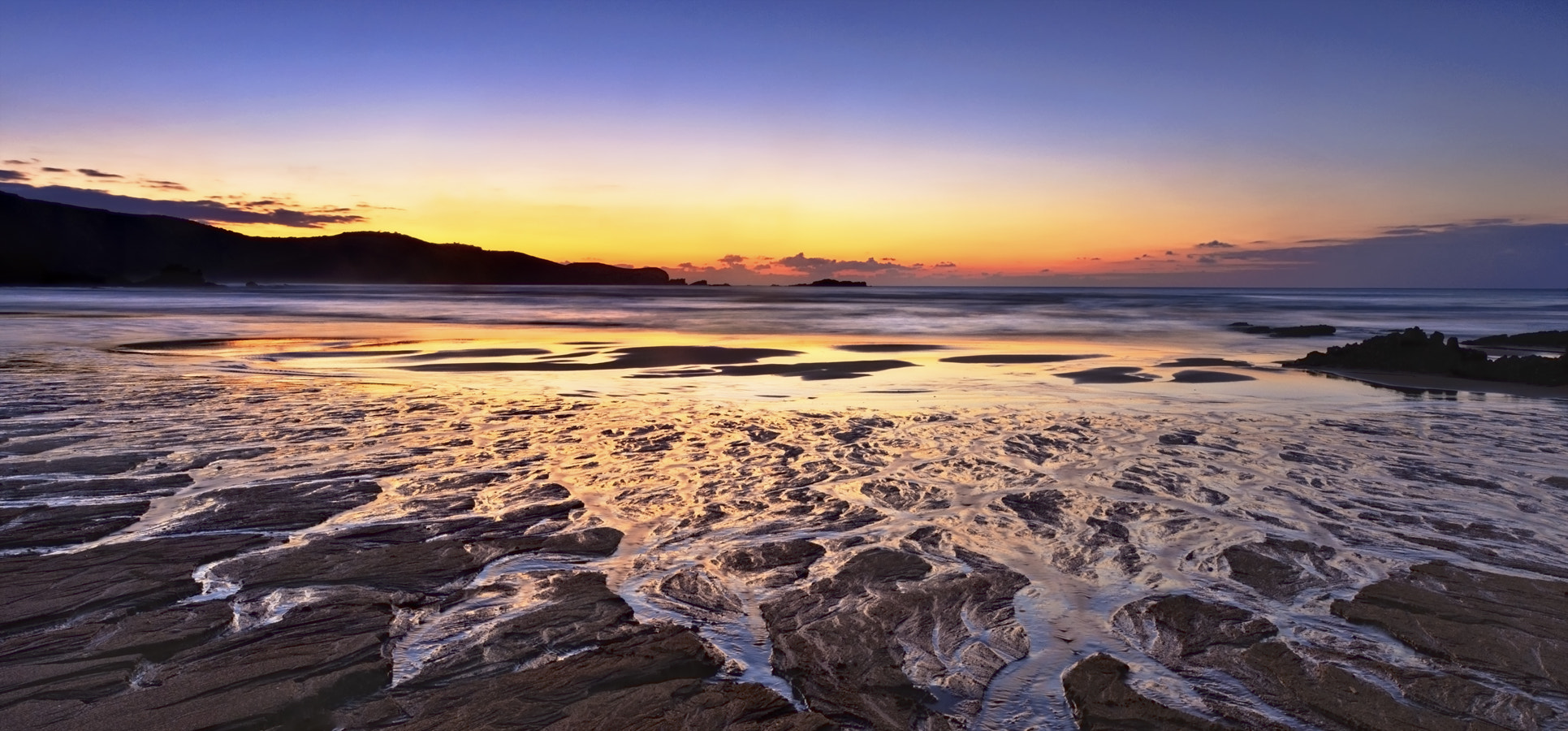 Photograph Dendritic sand patterns at sunset by Saghani  on 500px