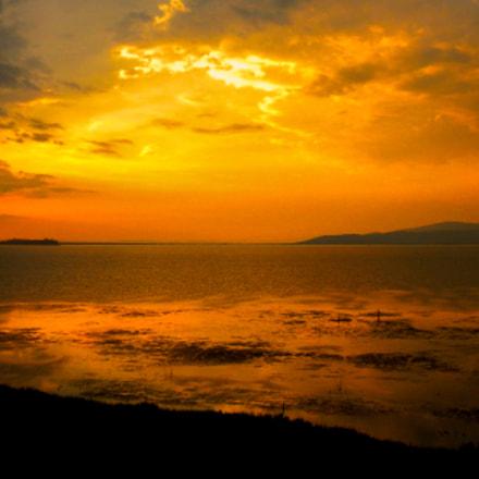 sunset, Nikon COOLPIX S630
