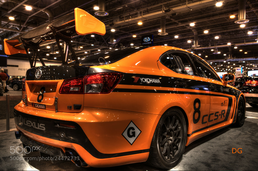 Photograph Lexus 8ccs-r by Delia gutierrez on 500px